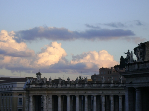 st. peters at sunset