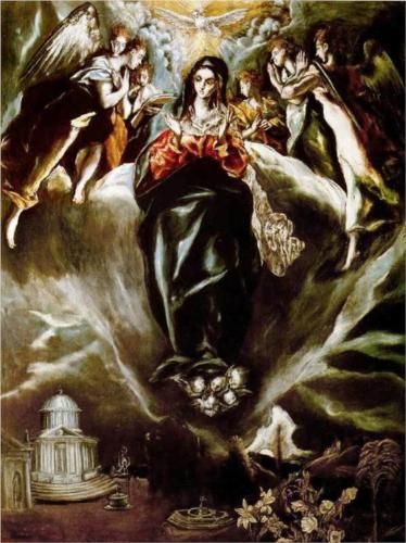 The Virgin of the Immaculate Conception - El Greco, 1610