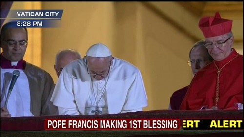 pope francis blessing